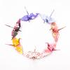 「四季折々、皆で囲む100柄の折り鶴」を本日発売開始いたしました