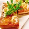 クリームチーズ&なめ味噌フレンチ高野豆腐【食事&体重記録】