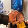 女座り(3歳4ヶ月)