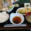 尾久【たらく】鯵定食 ¥800