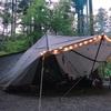 ヤドカリテントと共に6月最後のキャンプも道志村のとやの沢オートキャンプ場で過ごしてきたฅ( ̳> ·̫ < ̳ฅ)