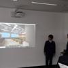 マインクラフトを使った「学校建築プロジェクト」発表会を行いました。