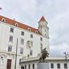 スロバキア ドナウを見下ろすブラチスラバ城 ♪