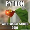 VS Code で Python をデバッグする環境構築(+ NumPy, SciPy, Matplotlib を実行する環境構築)