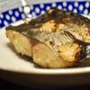 豊洲の「米花」で鰆粕漬け焼き、茄子味噌、万願寺唐辛子とえのきのちりめん山椒炒め。