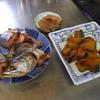 幸運な病のレシピ( 1177 )朝:鱒、餃子の餡作り、カボチャ、味噌汁