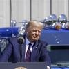 トランプ大統領、ペンシルベニアで選挙集会