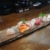 今年も終わりです、冬の居酒屋さんで刺身を食べる・・・あんじ烏丸六角店