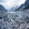 シャモニ小話 氷河に立つ