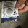 LIFEBOOK A573/G HDDをSSDに換装