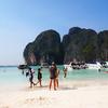 映画「ザ・ビーチ」の島!ピピ島ツアーに参加