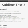 Sublime text 3 に、Package Controlをインストールする(Windows)