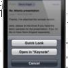 iPhone用iWork、本当は作ってるんじゃないの?
