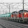 5月2日撮影 東海道線 清州駅 雨の中貨物列車を撮影 ①