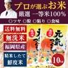プロが選ぶ一等 米 食味ランクA 【元気つくし 10kg】