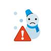 大雪に関する特別警戒宣言発令!初めてです!明日も大雪!大変です!