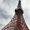 6月12日(火)hatenaより曇り空と東京タワー。