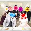 友人の一人娘が嫁いだ日♪♪結婚式ほやほやレポ。