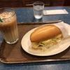 モリバコーヒーにて朝食です。