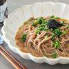 簡単で美味しい!海苔の佃煮のぶっかけ納豆蕎麦