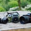 センサーサイズの異なるカメラに50mm相当の単焦点レンズを付けて撮り比べてみた