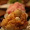 きなこ味のかき氷、しかもわらび餅入り!京都「文の助茶屋」