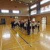 6年生:体育 集団行動訓練
