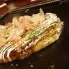 和来の看板メニューであるお好み焼き「わらい焼き」柔らかくてとても美味しかったです。