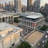 今日は「米同時多発テロ911メモリアル」マンハッタンはリンカンセンターから生中継。
