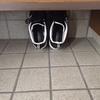 外出後の靴の収納