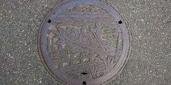 千葉県松戸市のマンホール