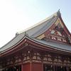 本堂、宝蔵門、そして五重塔…浅草寺の屋根瓦チタンに輝く
