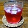 台風の夜に作った紫蘇ジュース
