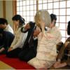 豪快に大茶碗で回し飲み【西大寺 大茶盛式】(奈良市)