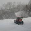 寒気が弱いせいか吹雪が長続きしない正月🎍