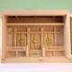 箱型スタイルの神棚 尾州桧バージョンの良い素材で作る三社神殿