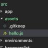 Angularプロジェクトでjavascriptライブラリを使用する方法