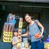 小江戸 川越街歩き『元祖 日本一ながい黒糖ふ菓子』