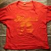 1970年代と思われる「mayo SPRUCE」ボディの古着Tシャツをご紹介。ブラッドロックプリントのロックTのようです