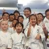 福岡市にお住まいの方々にお試し教室で空手体験