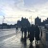 { Scotland-Day01 } 重厚な街並み、Edinburghに心を奪われて。
