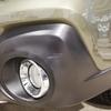 車 外装パーツ修理#5 スバル/レガシィアウトバック バンパー未塗装素地部の擦り傷補修