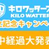 【キロワッターズ設立キャンペーン終了まであと5日】途中経過を発表します!