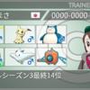 【剣盾シングルs3最終2178・14位】カビナット鬼火サイクル