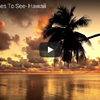 太平洋の楽園 一度は行ってみたいハワイの絶景