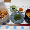 豚肉酢生姜焼き丼