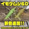 【GEECRACK】ラバーチューン済みイモワーム「イモケムシ60」に新色追加!