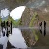 【写真】新緑の中へお出かけ ~清津峡渓谷トンネル
