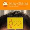 今日の顔年齢測定 92日目