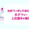 【結果・女子フリー(FS)】世界フィギュアスケート選手権2019・公式動画あり
